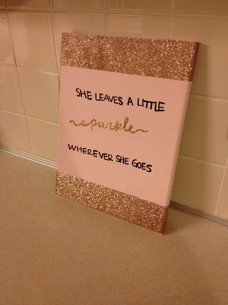 Quote canvas - as either just a canvas or for your sorority little (then emphasize the word little)!