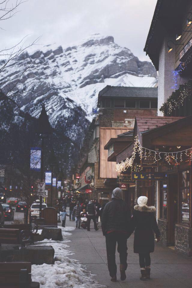 Winter street.