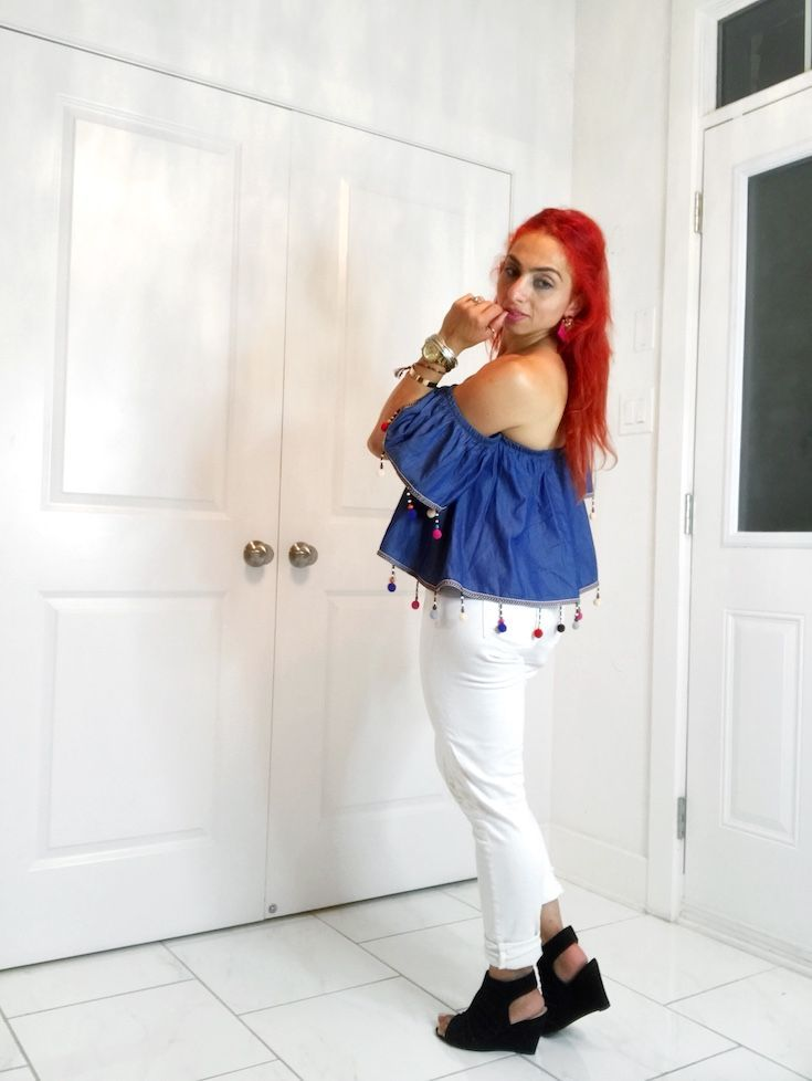 How to wear white clothing without feeling over exposed. Edgy fashion style, Classy fashion style, Women's fashion style, Fashion outfits, Fashion style tips, Boho fashion style, White outfit ideas, White pants,  casual white outfit