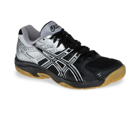 Asics Rocket GS Junior Indoor Court Shoe -- combines comfort and superb  performance. Available