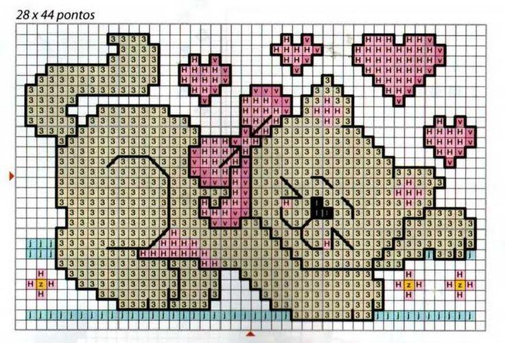 Edilse Bordados: Gráficos para meninas em ponto cruz!!!