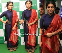 lakshmi_menon_poornima_indrajith_dress