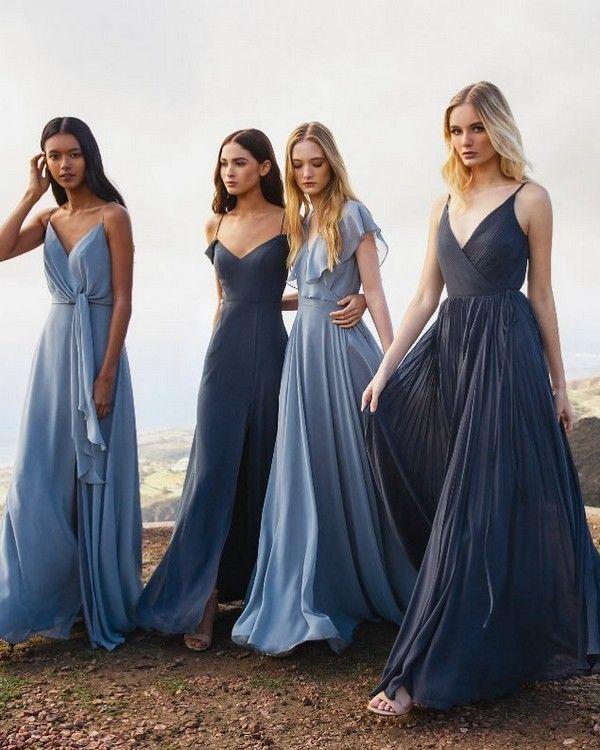20 besten Schattierungen von Blau Hochzeit Farbide…