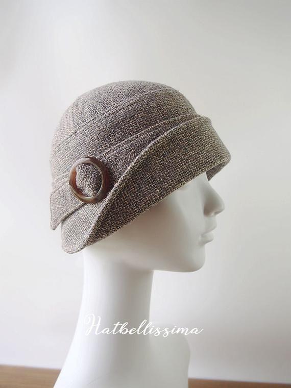 SALE  1920/'s  Hat Vintage Style hat winter Hats hatbellissima ladies hats millinery hats cloche Hats wool hats