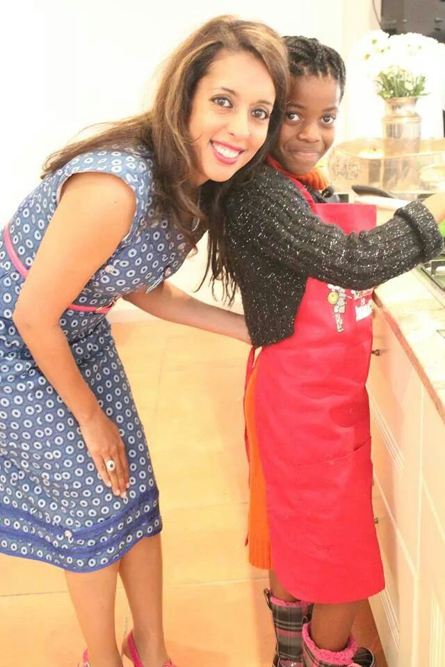 Gorgeous Chef;our gourmet goddess looking beautiful in her #sungoddess Jozi frock