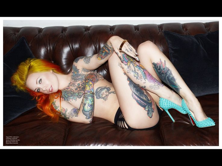 Read Inked Girls on Magzter