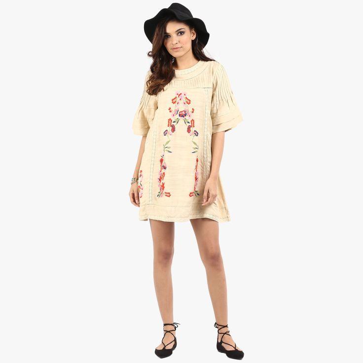 Amiya Easy Dress with Embroidery