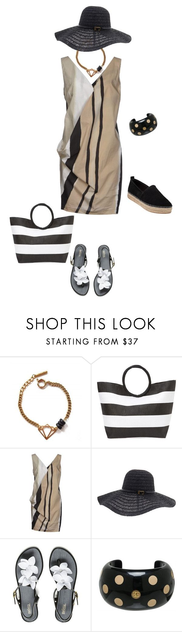 """""""Untitled #590"""" by clothes-wise ❤ liked on Polyvore featuring Tilly Doro, Magid, Malloni, Melissa Odabash, Melissa, Chanel and Steve Madden"""