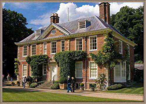 18th century Poulton House near Marlborough, Wiltshire
