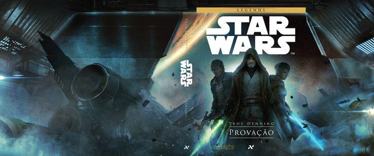 cover do livro Star Wars Legends Provação pela editora Aleph