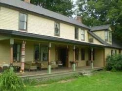 Our home in Vermont is a big old Vermont farmhouse and the land that it sits on has been in the family since the town was founded. This historic...