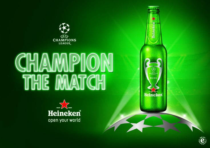 Heineken UEFA Champions League Beer