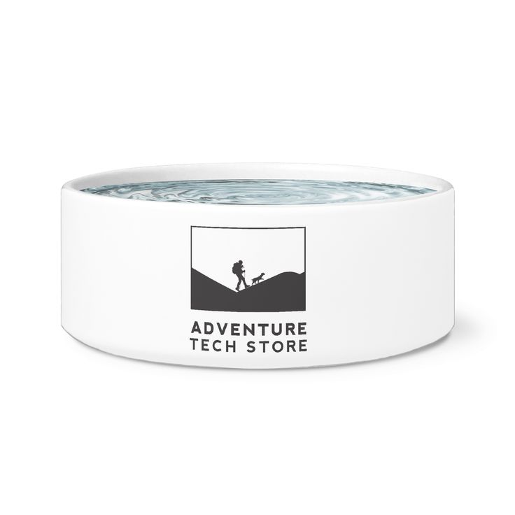 Featuring Adventure Tech Store branded Dog Bowl!  Available in 6 designs!  $40.99 + HST! Free Shipping!  https://www.adventuretechstore.com/collections/adventure-tech-clothing_accessories/products/adventure-tech-dog-bowl-6-options
