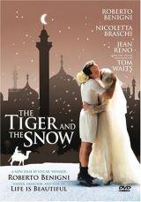 Tigris a hóban