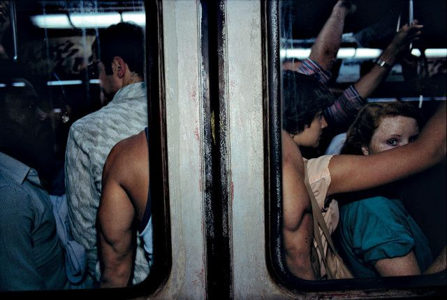 Bruce Davidson: The NYC Subway Was Another World In 1980 #truenewyork #lovenyc