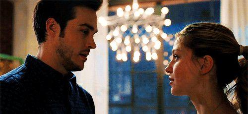"Holy guacamole. THIS SCENE. Yowza! <3 (gif is from karadavers on tumblr)  |TV Shows||CW||#Supergirl gifs||Season 2||2x13||""Mr. and Mrs. Mxyzptlk""||Kara x Mon-El||#Karamel kiss gif||Kara Danvers||Melissa Benoist||Chris Wood||#DCTV|"