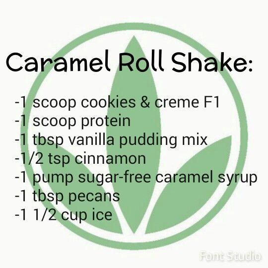Herbalife caramel roll shake! Yum!! Www.goherbalife.com/brookemaske