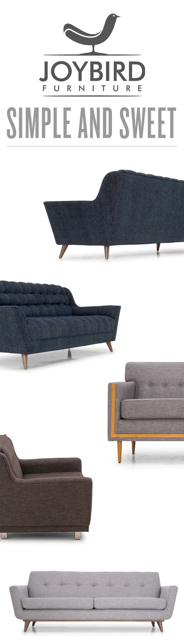 Neutral tones done right. With over 100 colors to choose from Joybird allows you to customize handmade chairs, sofas, sectionals with the perfect shade for your room. Discover what Joybird offers #wearejoybird