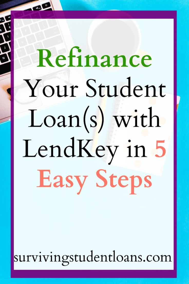 Are you looking to refinance your student loan? Check out how you can do that in 5 easy steps with LendKey (the provider who helped me refinance my private student loan).