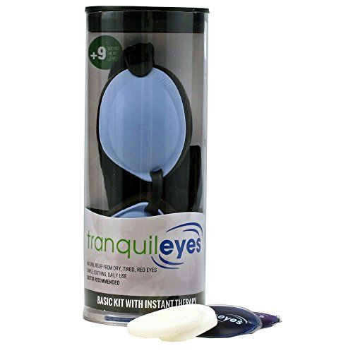 #care If you suffer from dry, tired, or itchy red eyes, this starter kit can offer immediate relief in just a few minutes. The patented #tranquileyes Basic Kit w...