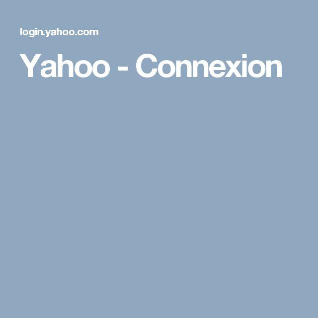 Yahoo -Connexion