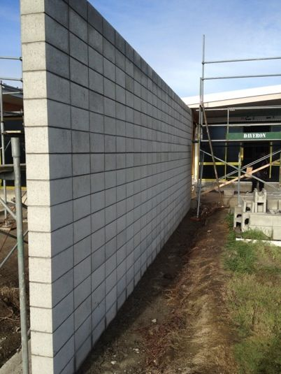 stacked concrete blocks masonry wallconcrete blocksvilla designbuilding - Masonry Block Wall Design