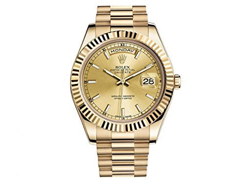 NEW Rolex Day Date II President 18K Yellow Gold Mens watch 218238 CHIP >>> For more information, visit image link.