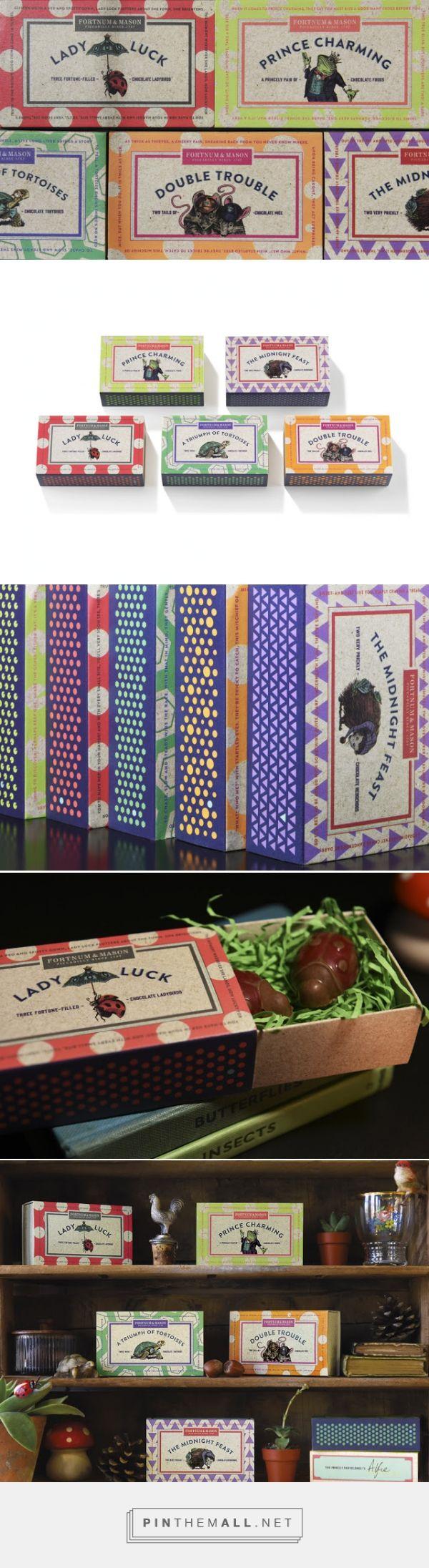 """Tales from an English Country Garden: Design Bridge and Fortnum & Mason create fun new chocolate range"