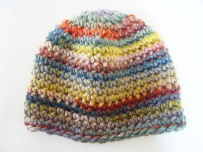 Bonnet simple au crochet (tuto)