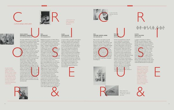 The First Issue of Dude Magazine by Massimiliano Mauro, via Behance