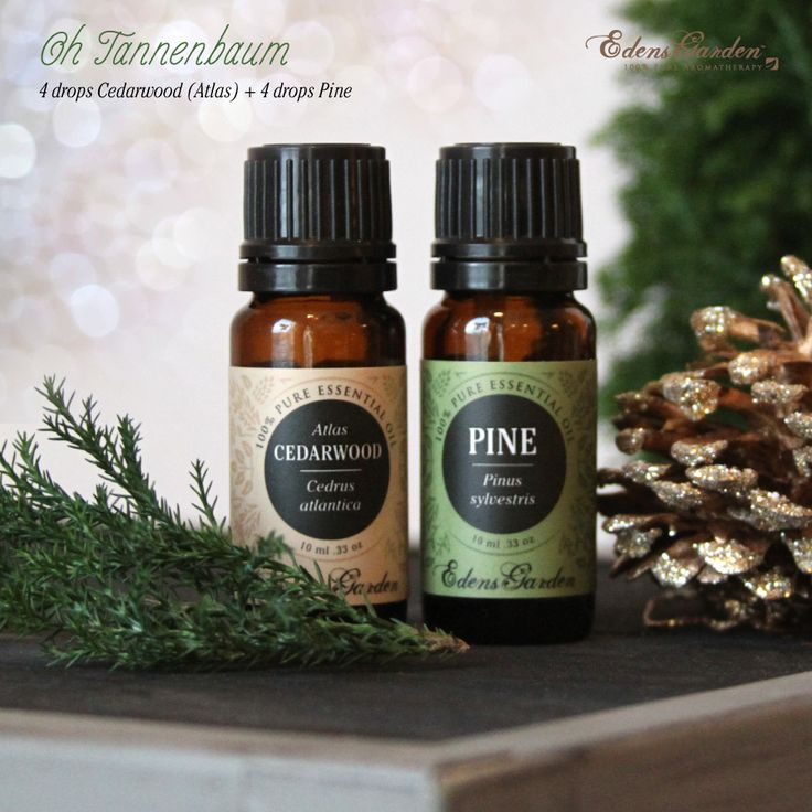 """We've captured the fresh, crisp aroma of a Christmas tree or a holiday wreath in our """"Oh Tannenbaum"""" diffuser blend recipe! Simply combine in a diffuser: 4 drop"""