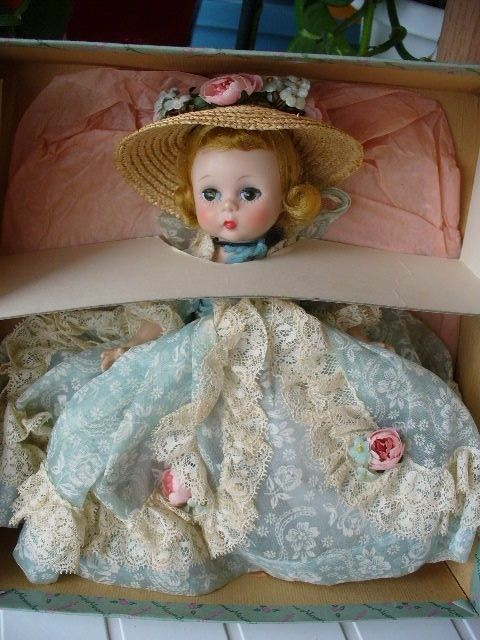 Extremely rare vintage Madame Alexander 1957 COUSIN GRACE #432 Doll MIB