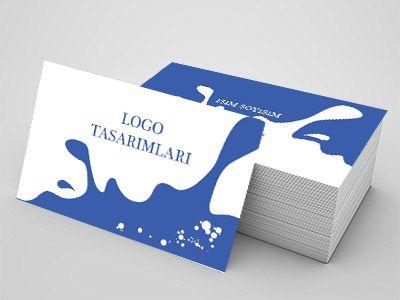 Su alım satımıyla uğraşanlar için özel tasarım kartvizitler