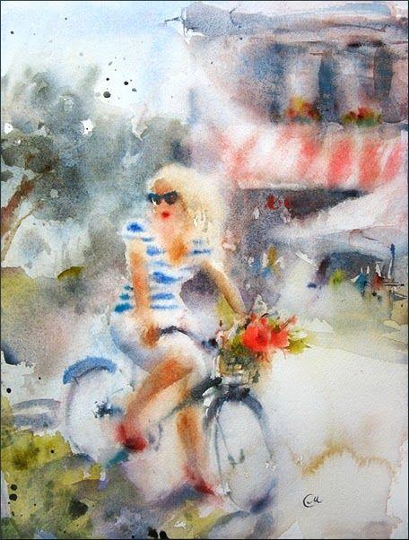 Watercolors by Maria Stezhko (Акварели Марии Стежко): Sunny Day