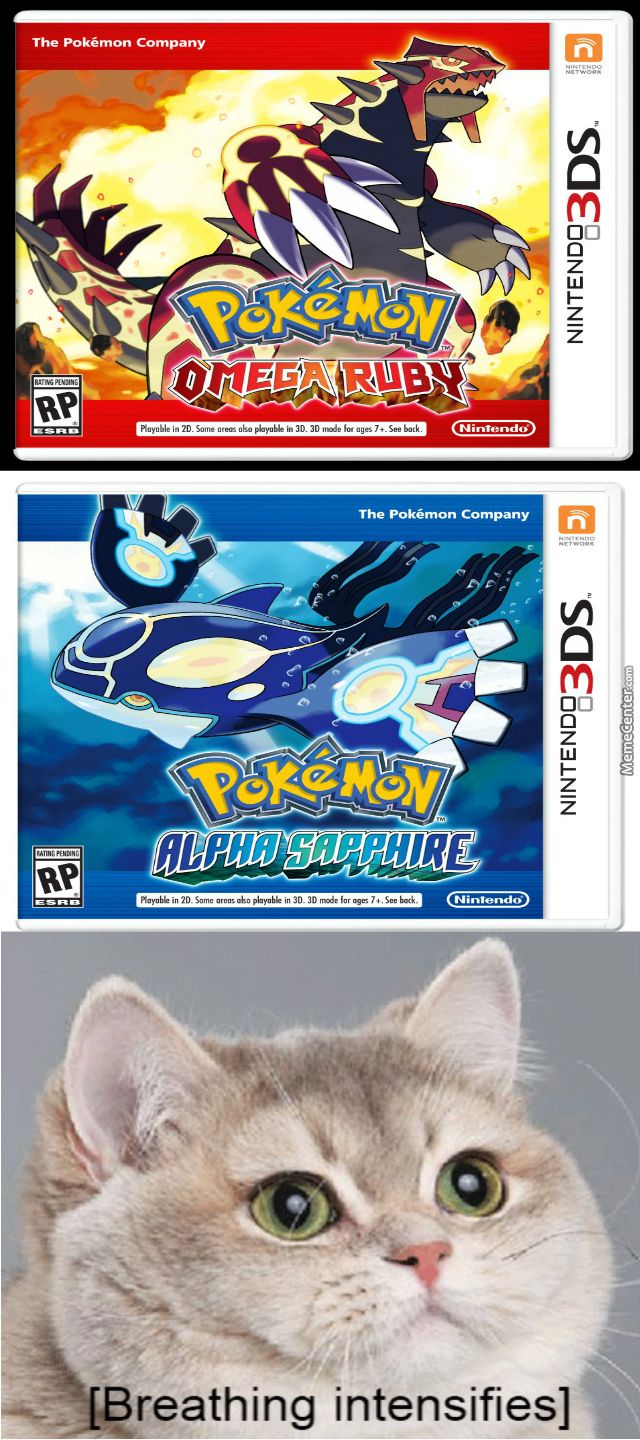 Pokemon Omega Ruby And Alpha Sapphire Confirmed Praise