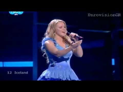 ▶ EUROVISION 2009 2nd WINNER -Iceland Yohanna - Is It True HQ STEREO - YouTube