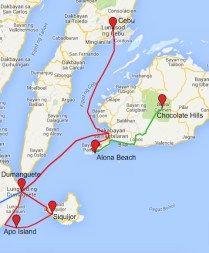 Route Visayas