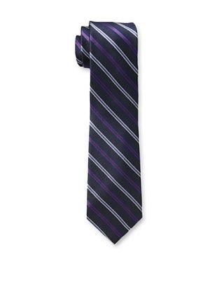 55% OFF Ben Sherman Men's Sheridan Stripe Tie, Purple