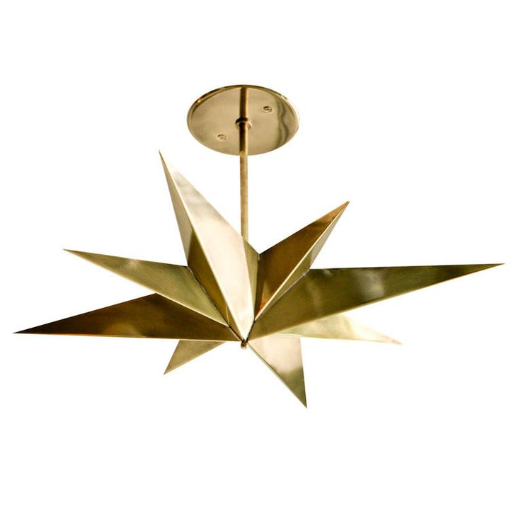 The Star Lamp | From a unique collection of antique and modern chandeliers and pendants  at http://www.1stdibs.com/lighting/chandeliers-pendant-lights/