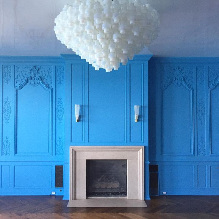 Farrow and Ball St. Giles Blue by Summer Thornton Design