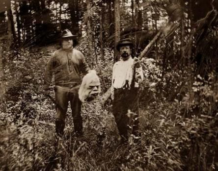 Credible Bigfoot photographs believed taken with an 1863 wooden box camera. The Bigfoot photos are tintype. If these were fake, who was capable of this type of photography during that time? Also, look at the period dress and firearms..truly authentic! (Did we mention to look at what the men are holding in their hands?) Follow Boondockers Landing Resort for more interesting, informative, and fun boards about Oklahoma and the southeast 'hot spot' region known as Choctaw Country. boondockersl