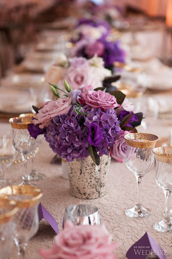 25 Best Ideas About Purple Gold Weddings On Pinterest