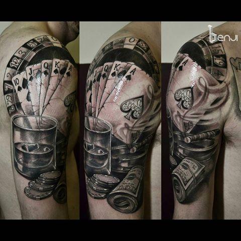Image result for gambling tattoos
