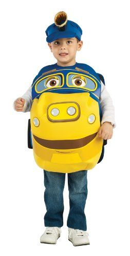 Chuggington Child's Brewster Costume – One Color – Small Best Reviews