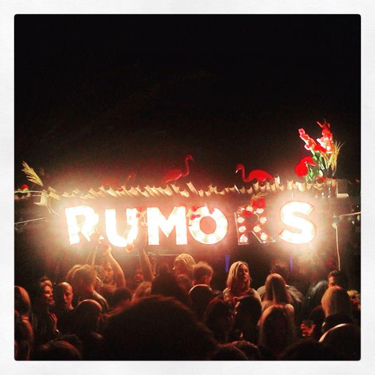 Rumors opening party beachouse Ibiza