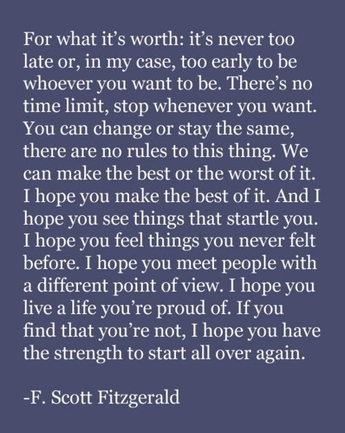 F. Scott Fitzgerald quote fscottfitzgerald gatsby love