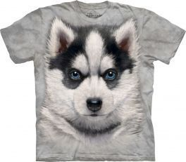 Tričko Sibírsky husky šteniatko - detské