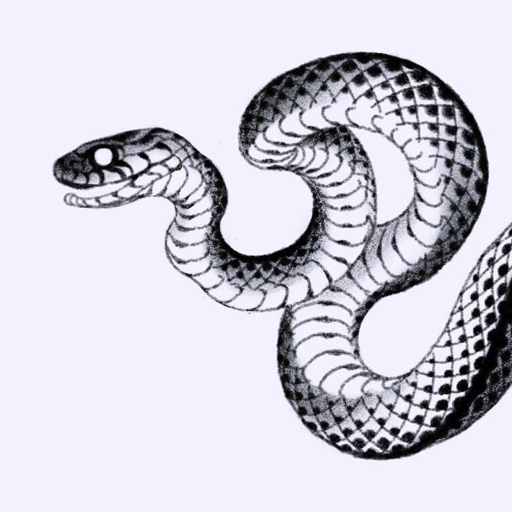 картинки татушки змеи попытке