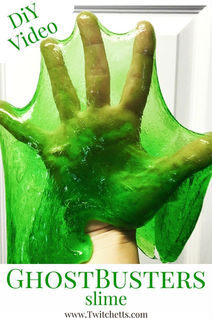 Watch us make this fun Ghostbusters Slime LIVE! This is such a fun kids activity to promote fun sensory play!