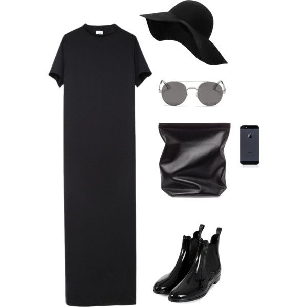 #8 by cici-munada on Polyvore featuring Vetements, Jil Sander, OXYDO and MANGO